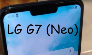 LG G7 neo front feat leak