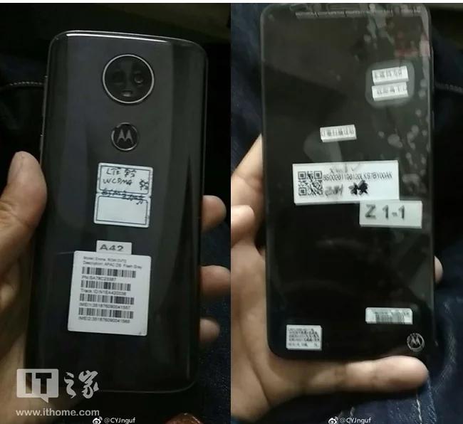 Moto E5 Plus photo leak