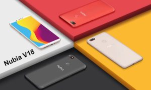 Nubia V18 ALL Colours Render FEat