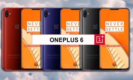 OnePlus 6 All colors leak