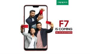 Oppo F7 is Coming