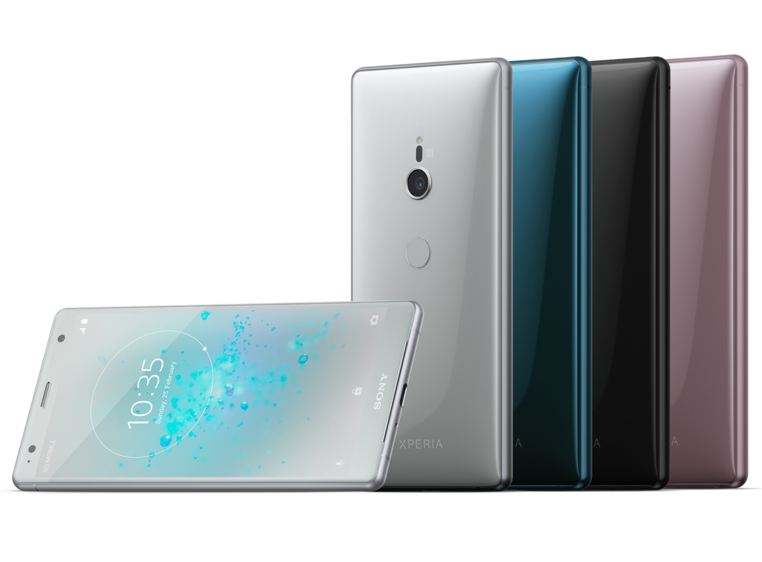 Sony Xperia XZ2 Display
