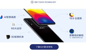 Vivo X21 all spec