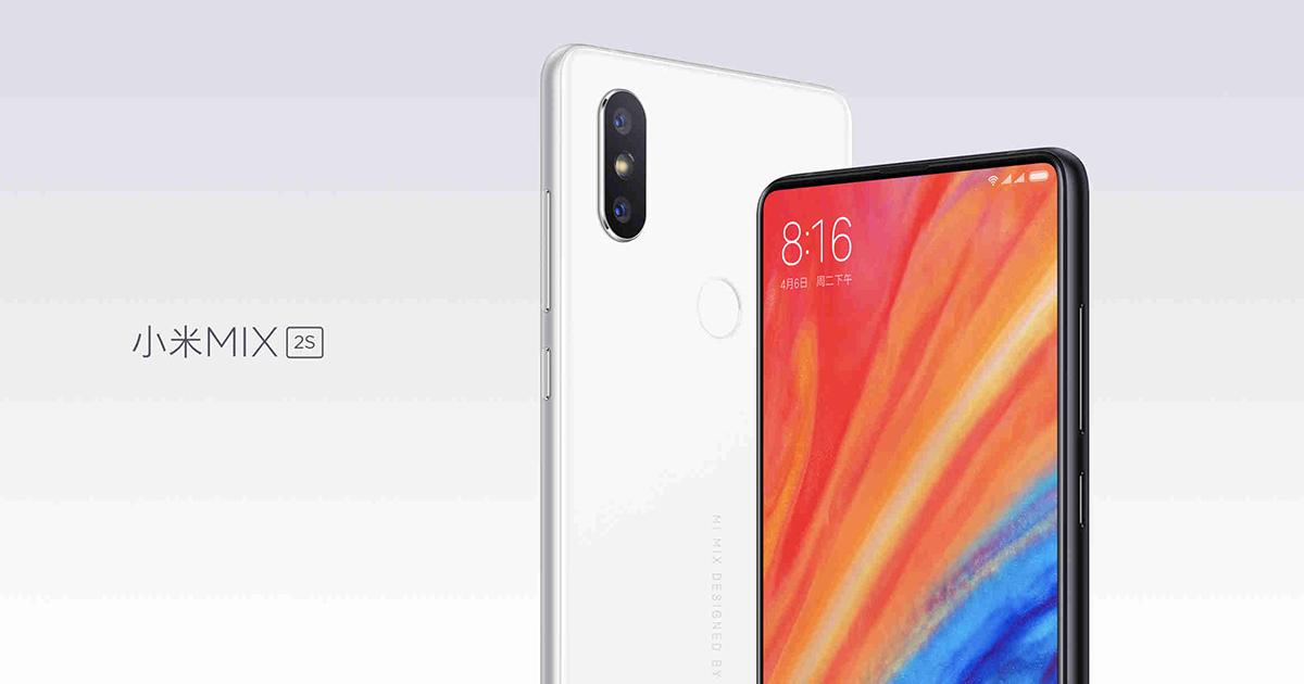 Xiaomi Mi Mix 2S Head