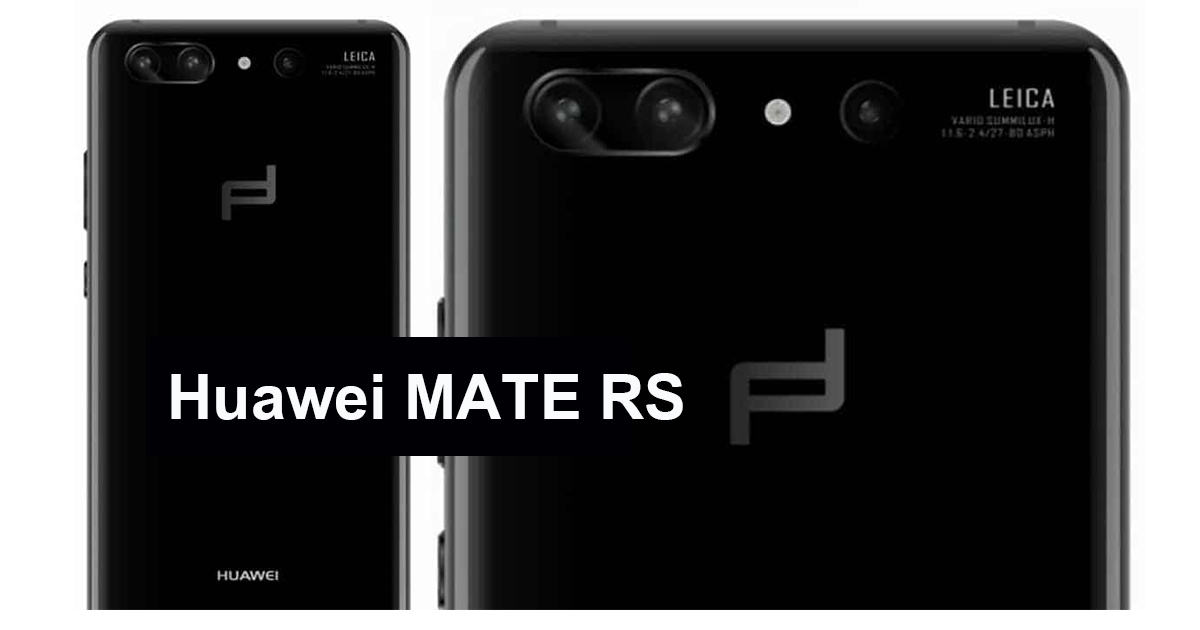 Huawei MATE RS