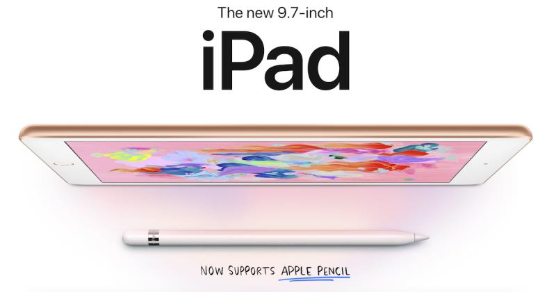 iPad รุ่น 9.7 นิ้ว (2018) for study