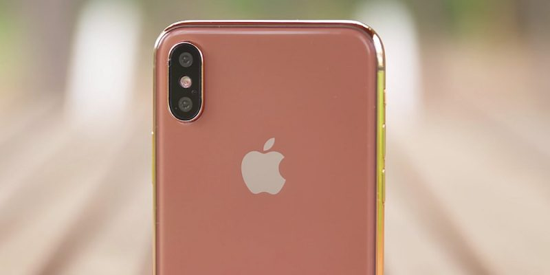 Apple iPhone X Blush Gold - 2