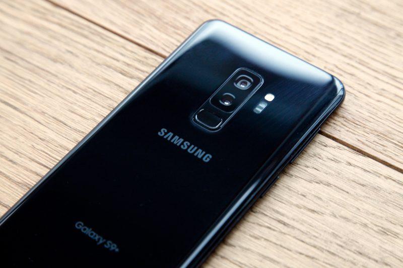samsung galaxy s9 plus black back
