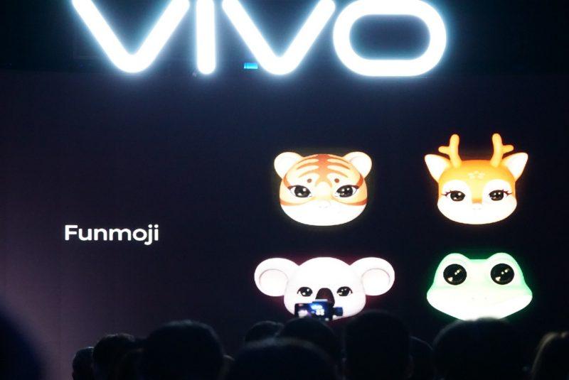 Vivo V9 AR emoji