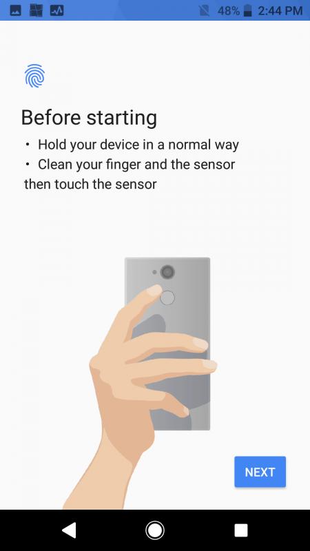 screen Sony Xperia XA2 Ultra