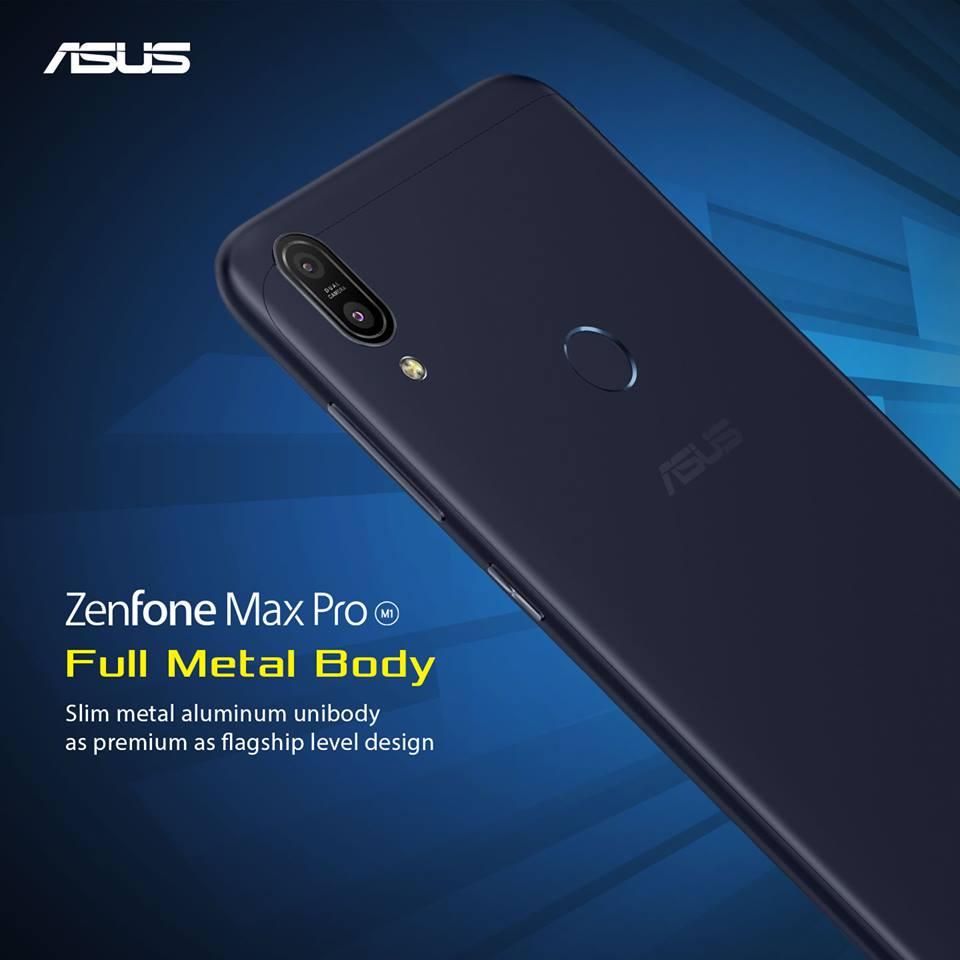 ASUS Zenfone MAX Pro M1 Metal Body