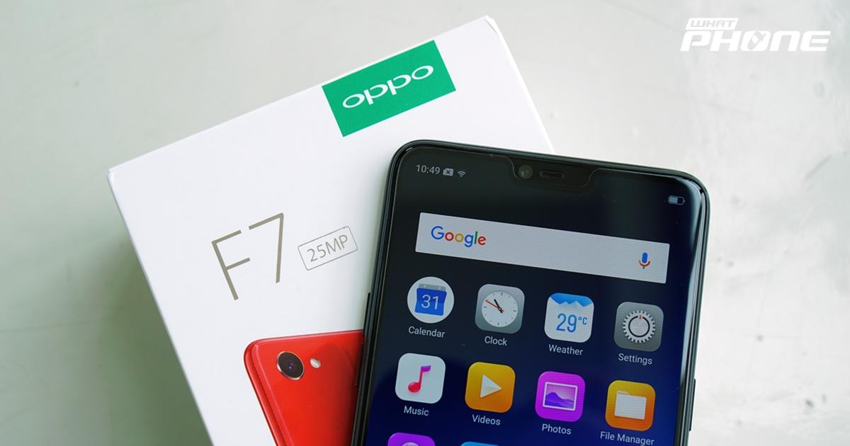 OPPO F7 pantip preview