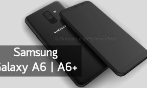 Galaxy A6 and A6+ Head