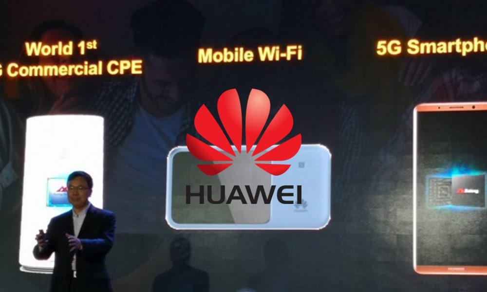 Huawei Mate Series with 5G Smartphone Head