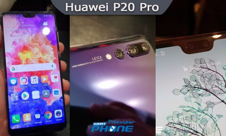 Huawei P20 Pro Preview Head