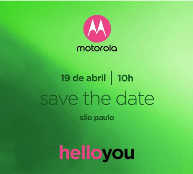 Motorola 19 April lauch