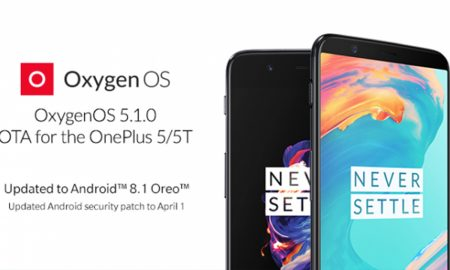 OnePlus 5 and OnePlus 5T Update Android 8.1