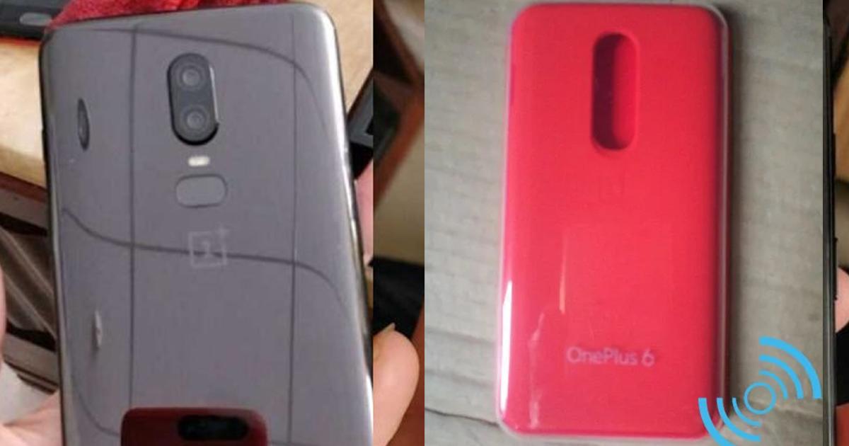 OnePlus 6 leak case