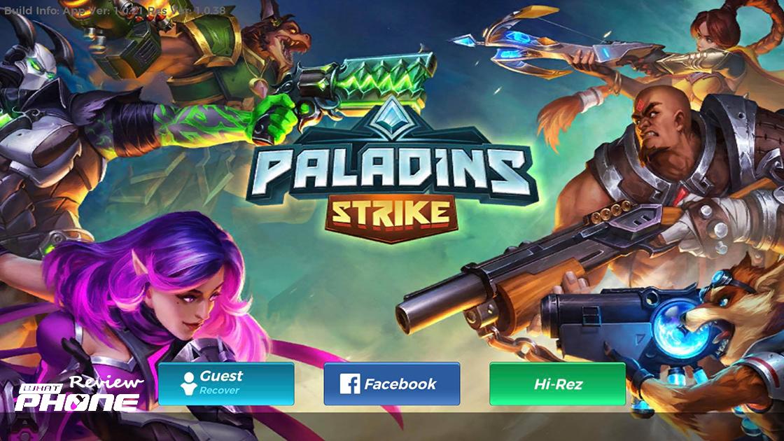 Paladins Strike review