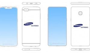 Samsung Galaxy Design 2018 Leak - Head