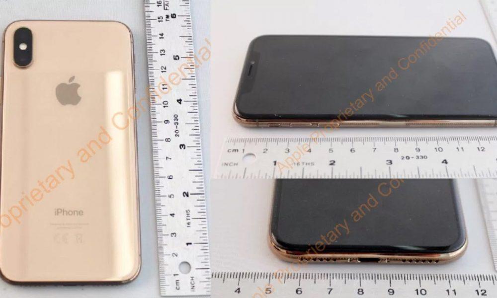 iPhone X Gold Head