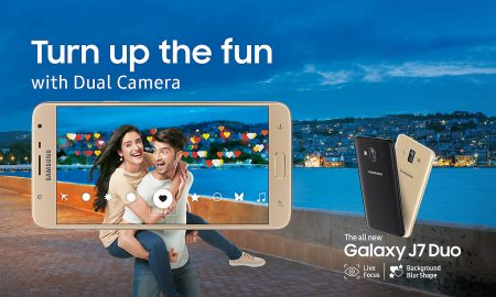 Samsung Galaxy J7 Duo Head
