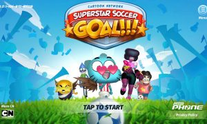 Cartoon Network Superstar Soccer Goal