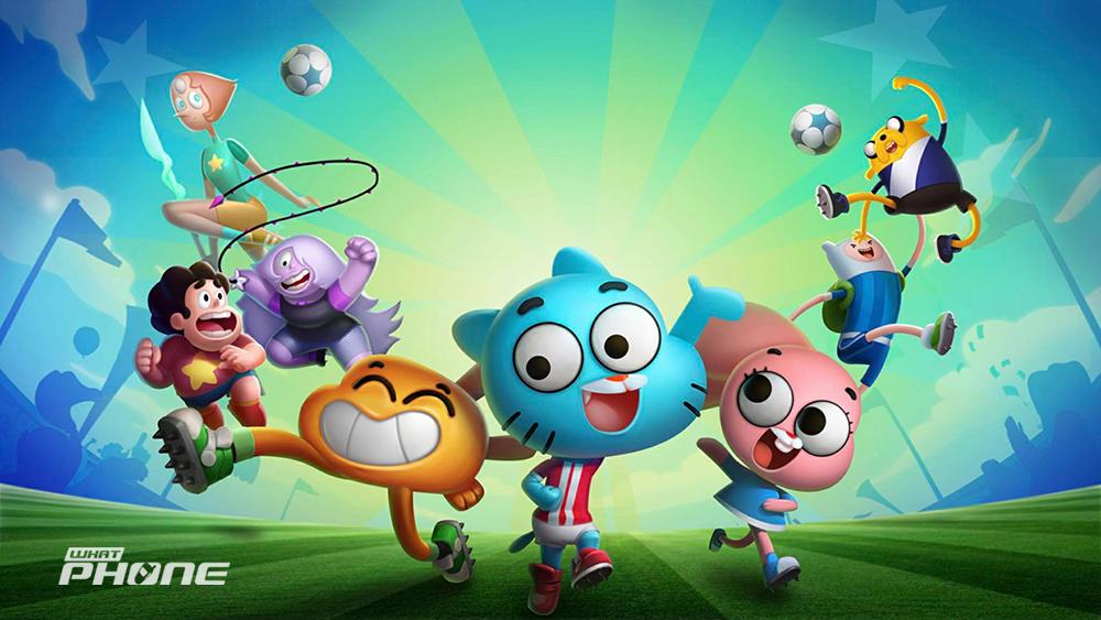 Cartoon Network Superstar Soccer Goal