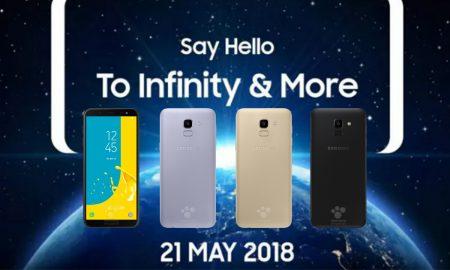 New Samsung Galaxy J 2018