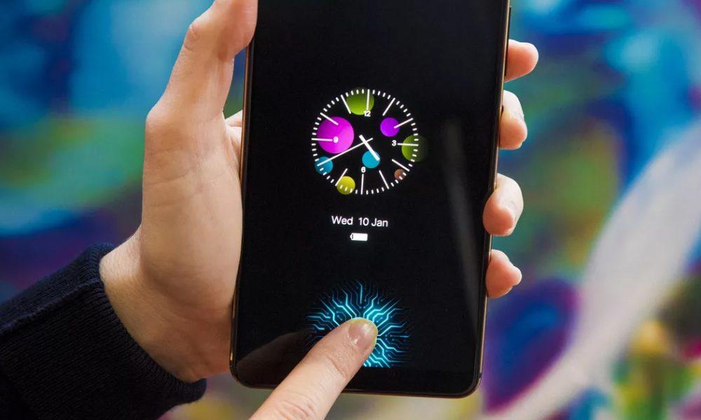 Galaxy S10 fingerprint
