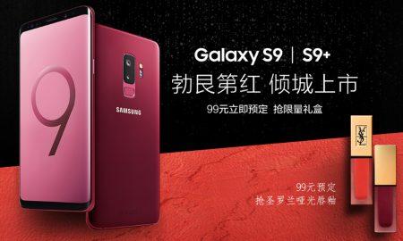 Samsung Galaxy S9 S9 Plus Burgundy red