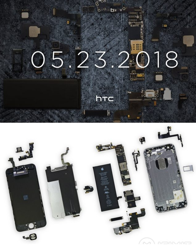 HTC U12 use iPhone 6