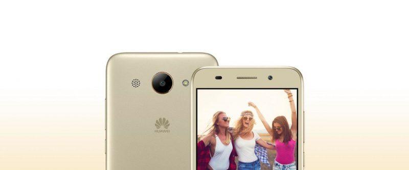 Huawei Y3 (2018) Gold