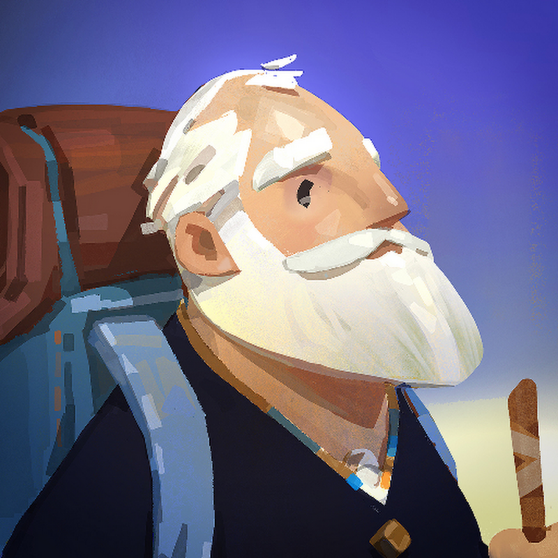 Standout Indie. Old Man's Journey
