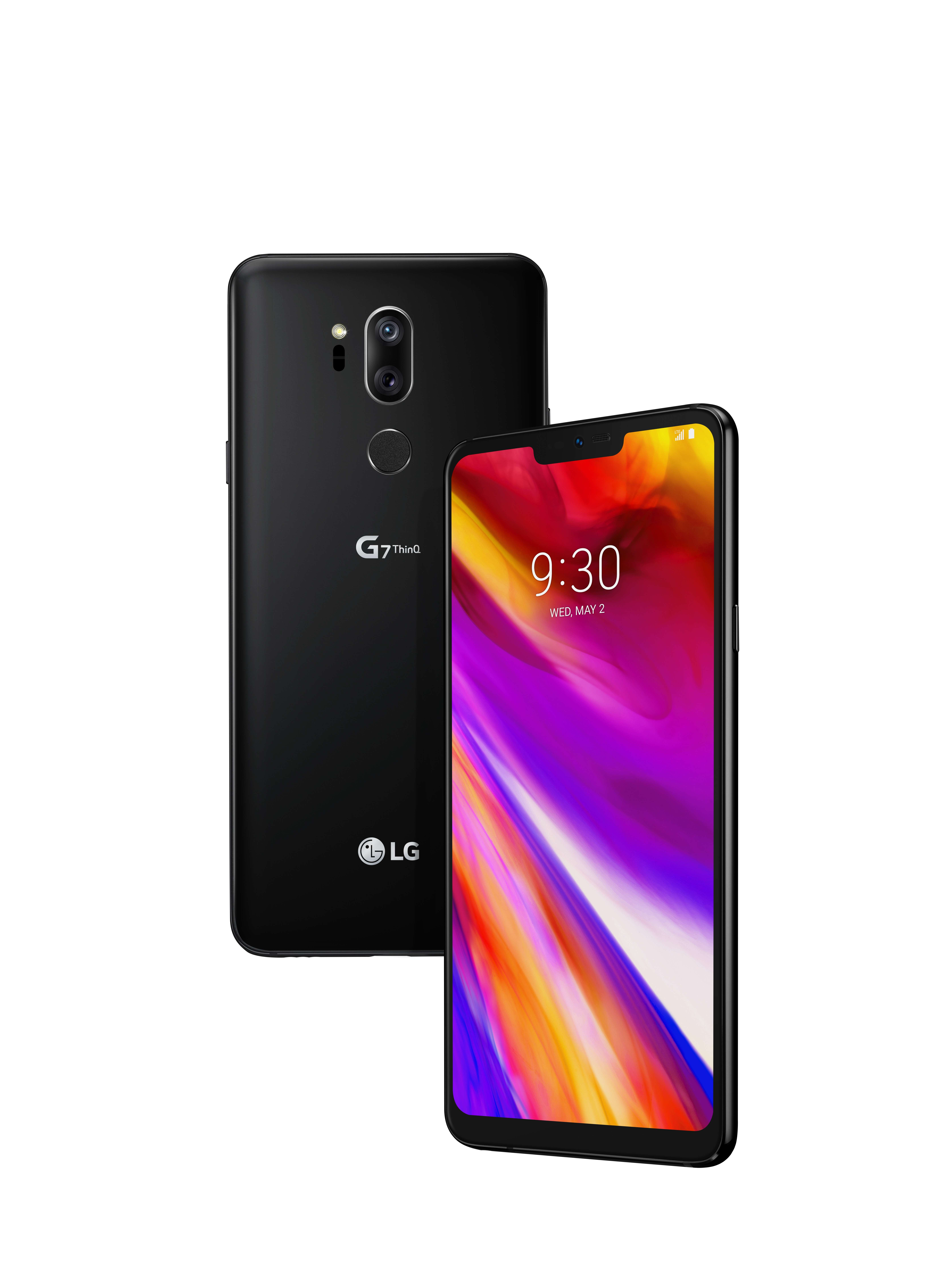 LG G7 ThinQ New Aurora Black Render – 1