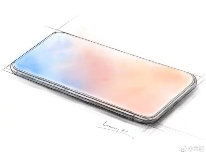 Lenovo Z5 Full Screen Display