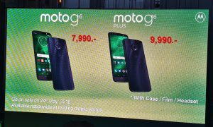 Moto G6 and Moto G6 Plus Price in Thailand ราคา