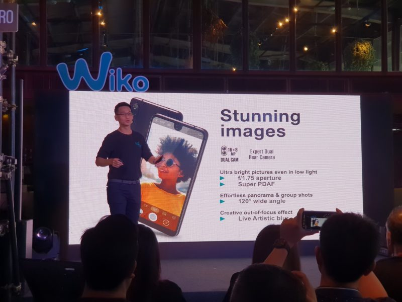New Wiko View 2 Pro Spec Camera สเปค กล้อง