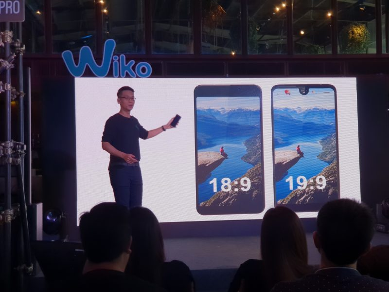 New Wiko View 2 Pro Display จอ