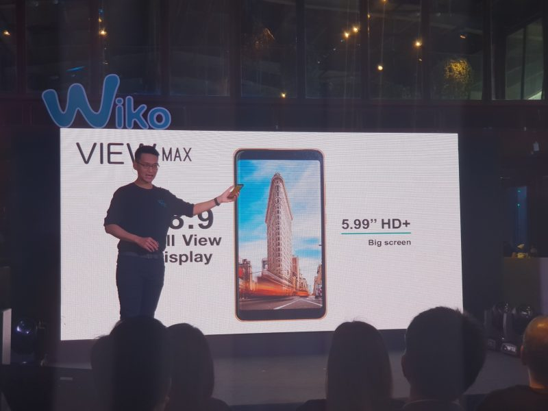 New Wiko View MAX จอ Display