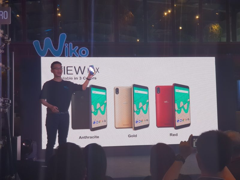 New Wiko View MAX Colors สี