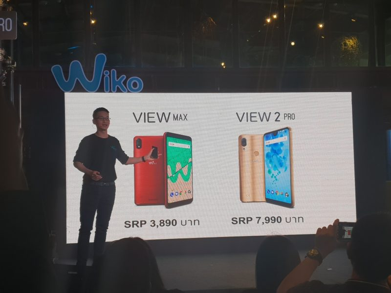 New Wiko View 2 Pro and Wiko view MAX Price ราคา