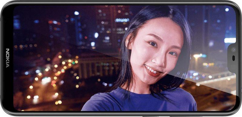 Nokia X6 Front Camera Display