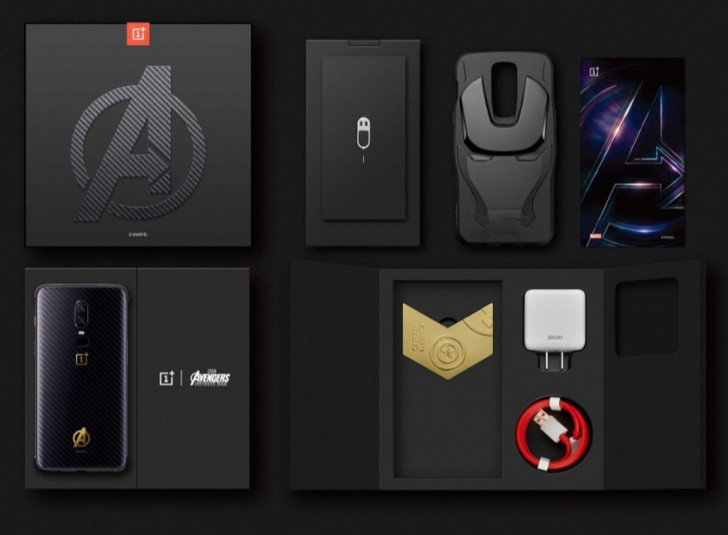 OnePlus 6 Avengers Infinity War Edition unveiled Package