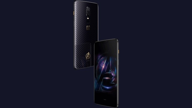 OnePlus 6 Avengers Infinity War Edition unveiled
