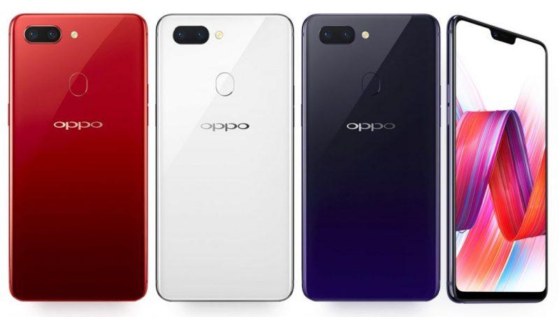 Oppo R15 Red Purple White