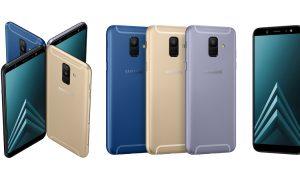 Samsung Galaxy A6 และ Samsung Galaxy A6+