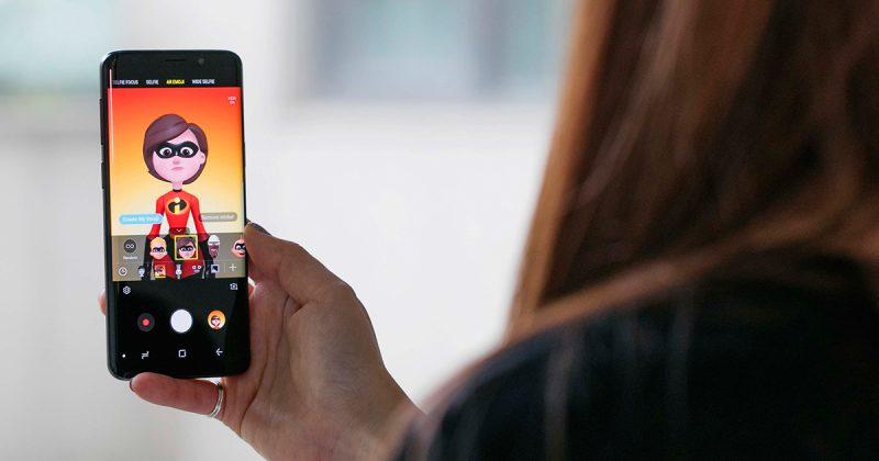 Samsung galaxy S9 and Galaxy S9 Plus new The Incredibles AR Emoji