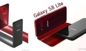 Samsung Galaxy S8 Lite Burgundy Red