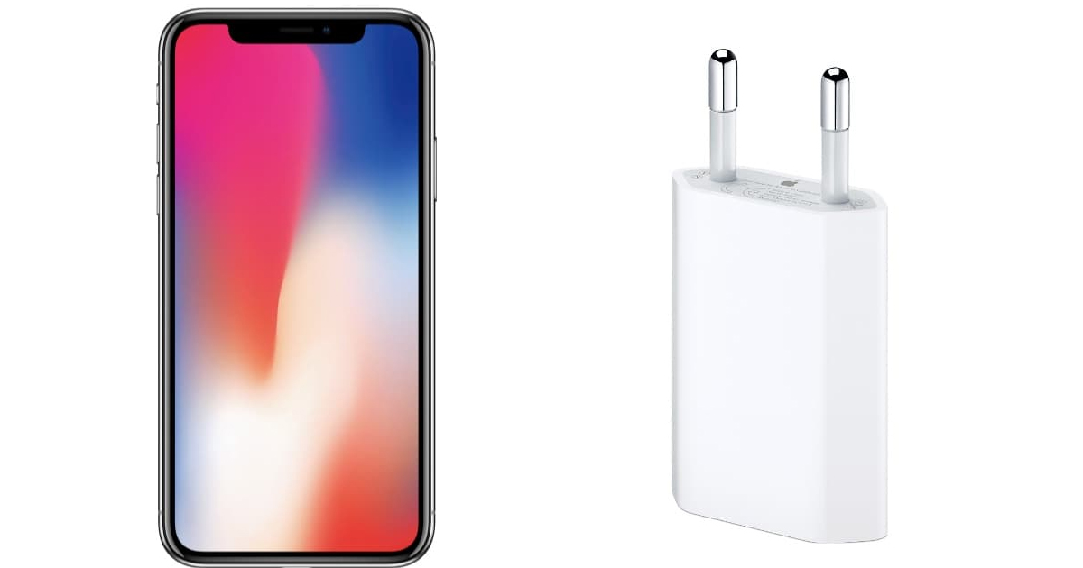 Adapter Quick Charge USB-C iPhone X